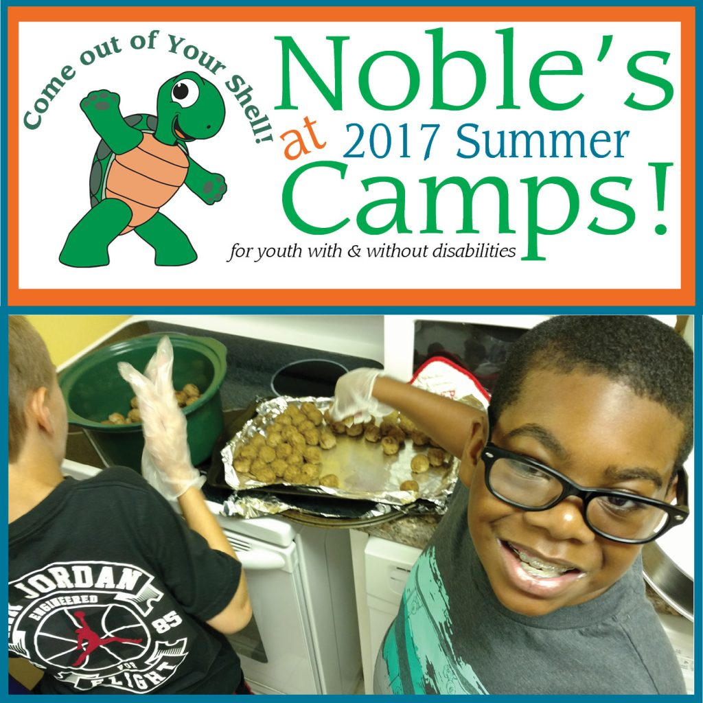 Come out of your shell at Noble Summer Day Camps