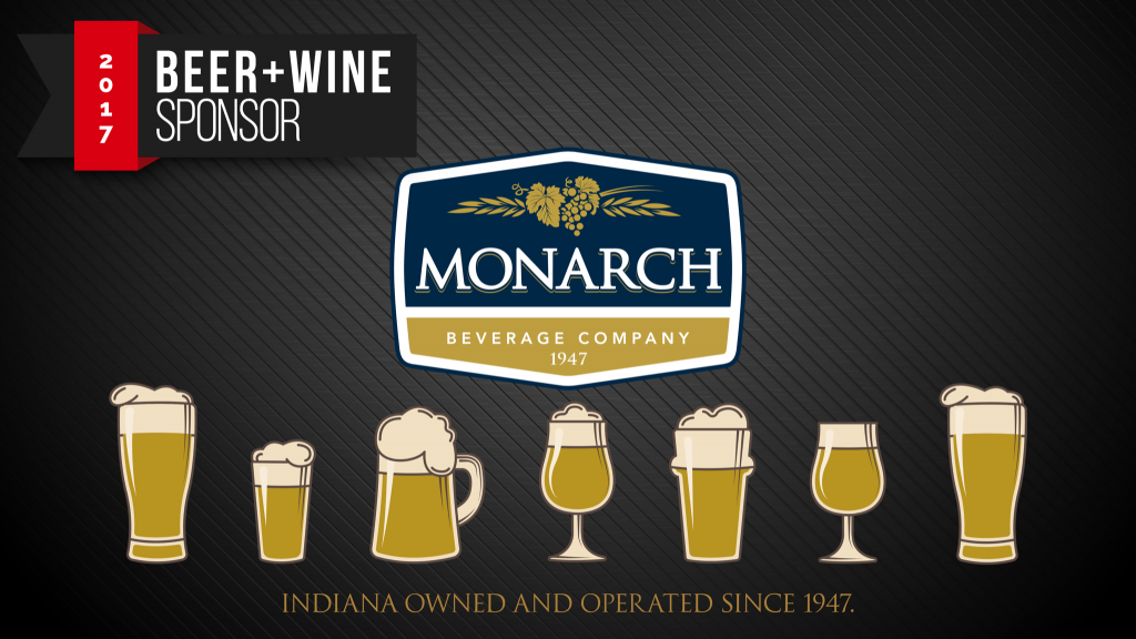 Thanks to Monarch for sponsoring the beer and wine at Raising the Stakes