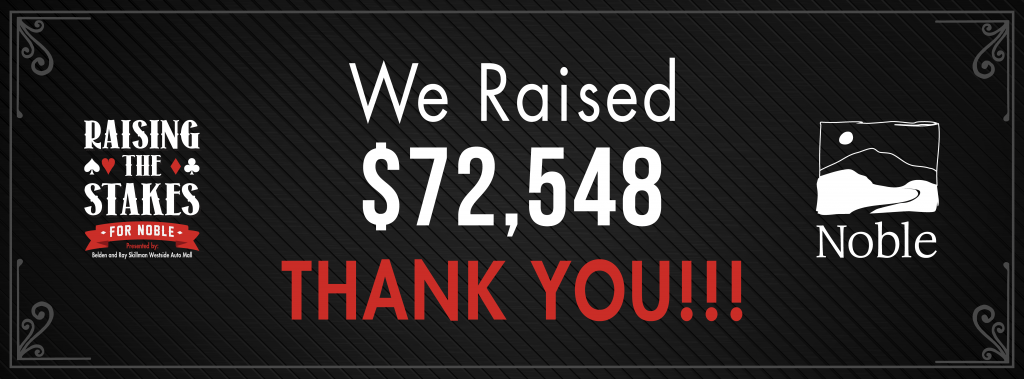Raising the Stakes raised over 72,000!