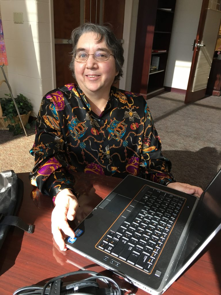 Deloris is writing the story of her life through the generous Dream Team gift of a laptop from Gregory and Appel