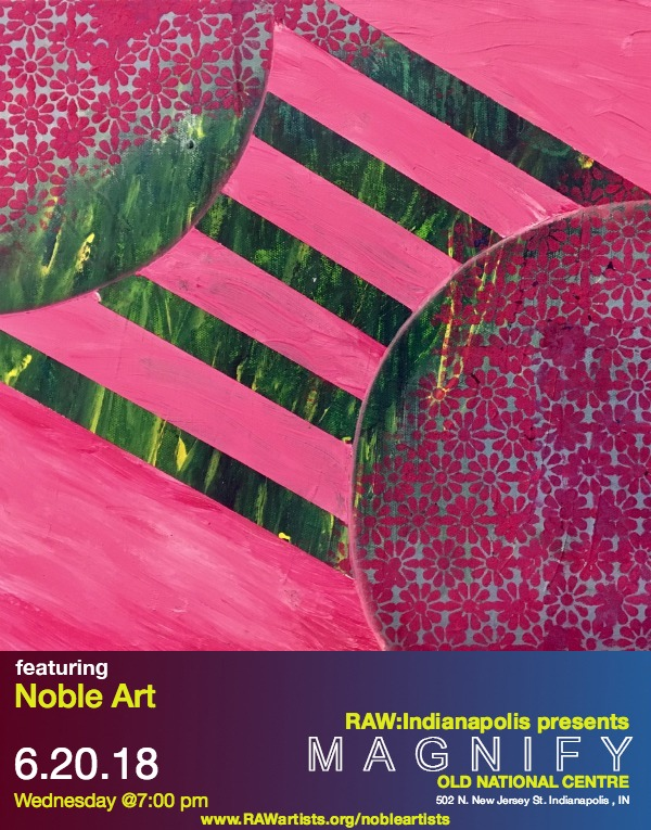 Support Noble Artists at RAW Art Show