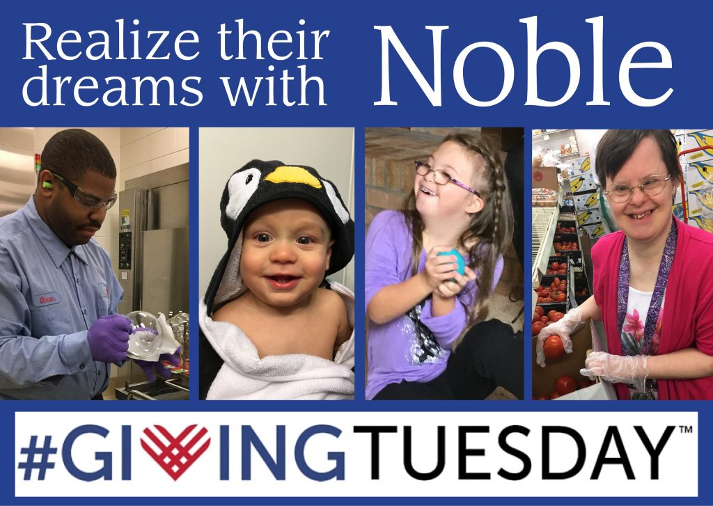 Share the Dream with Noble This Giving Tuesday