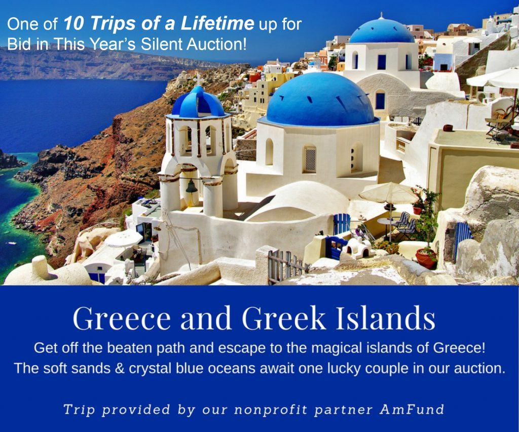 Bid on trip packages like this one to Greece