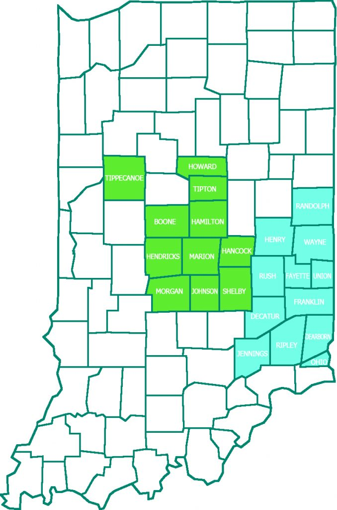 Noble serves 23 counties in Indiana