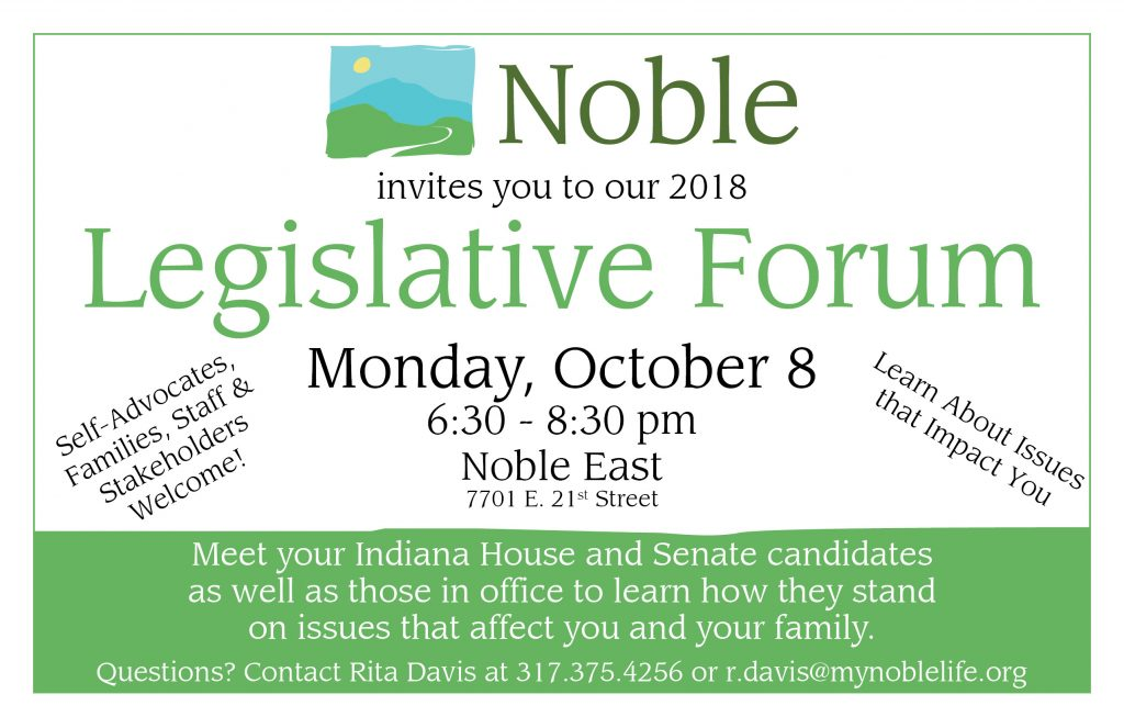 Join us tonight for our 2018 Legislative Forum