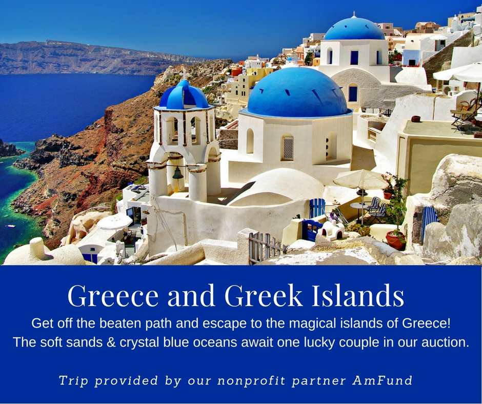 Take the once in a lifetime trip to Greece and the Greek Islands